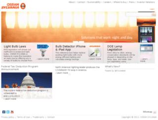 qa.sylvania.com screenshot