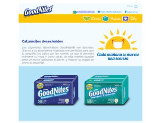 qa1.goodnites.com.mx screenshot