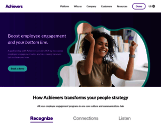qa12-1.achievers.com screenshot
