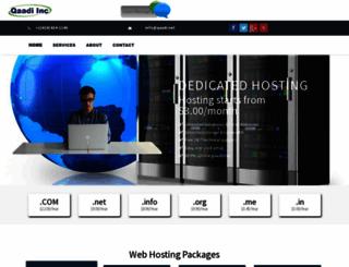 qaadi.net screenshot