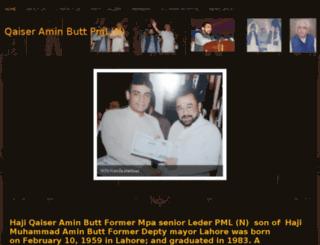 qaiserbuttpmln.webs.com screenshot