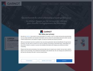qarnot-computing.com screenshot