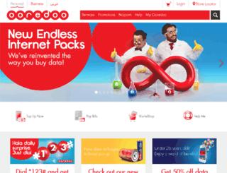 qatar.net.qa screenshot