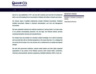 qaviandco.com screenshot