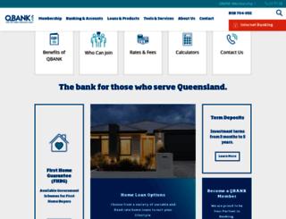 qbank.com.au screenshot