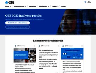 qbe.com screenshot