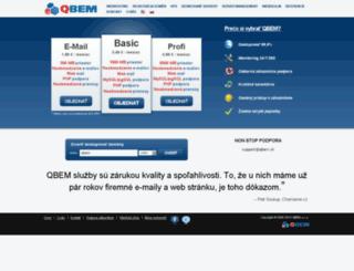 qbem.sk screenshot