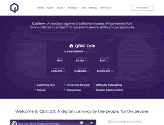 qbic.io screenshot