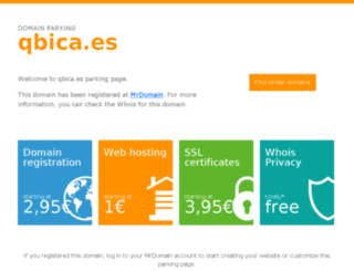 qbica.es screenshot
