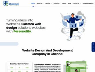 qbrainstorm.com screenshot
