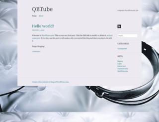 qbtube.wordpress.com screenshot