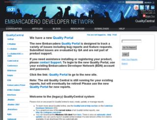 qc.codegear.com screenshot