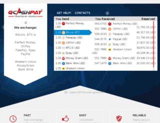 qcashpay.com screenshot