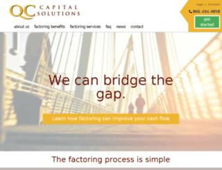 qccapitalsolutions.com screenshot