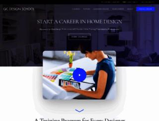 qcdesignschool.com screenshot