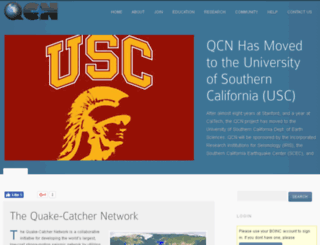 qcn.stanford.edu screenshot