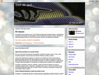 qdeque.blogspot.com screenshot