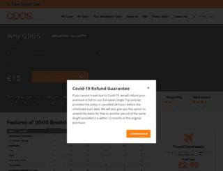 qdosbreakdown.co.uk screenshot