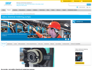 qdospumps.com screenshot