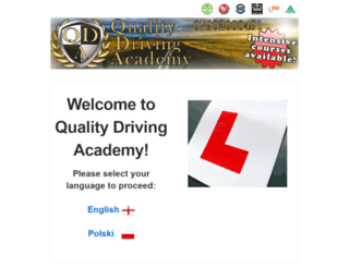 qdrivingacademy.co.uk screenshot