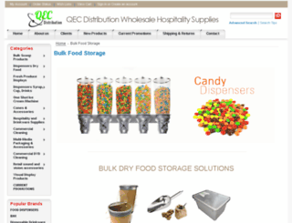 qecdistribution.com.au screenshot