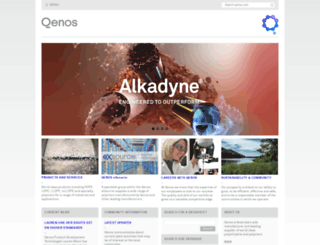 qenos.com.au screenshot