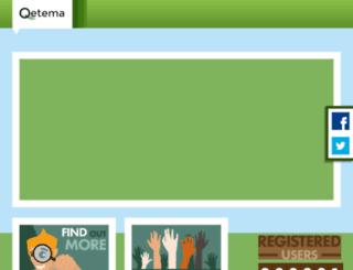 qetema.org screenshot