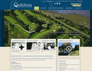 qgolfclub.memberstatements.com screenshot