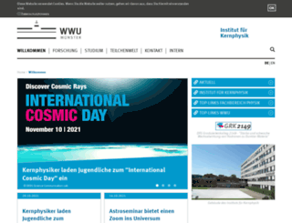 qgp.uni-muenster.de screenshot