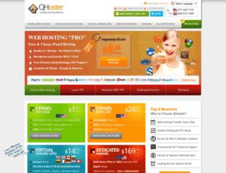 qhoster.net screenshot