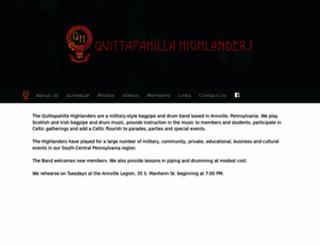 qhpipeband.org screenshot
