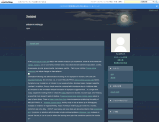 qidutucel.exblog.jp screenshot