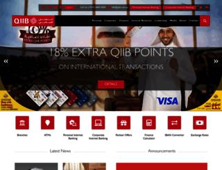 qiib.com.qa screenshot