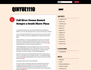 qinyue1110.wordpress.com screenshot
