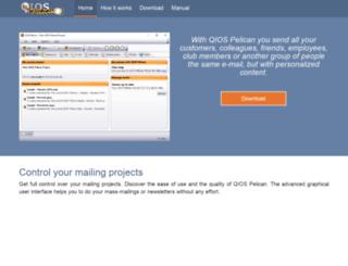 qiospelican.com screenshot
