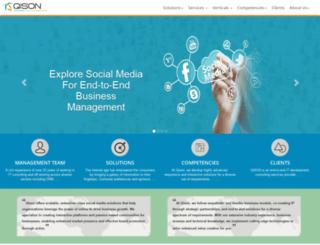 qisonsoft.com screenshot