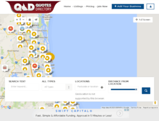 qldquotes.com.au screenshot
