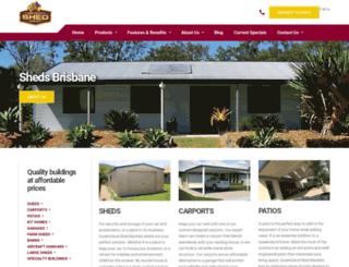 qldshedmarkets.com.au screenshot