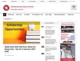 qldt2.ftu.edu.vn screenshot