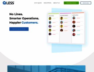 qless.com screenshot