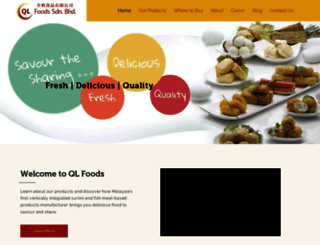 qlfoods.com screenshot