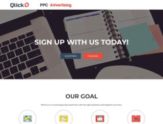 qlicko.com screenshot