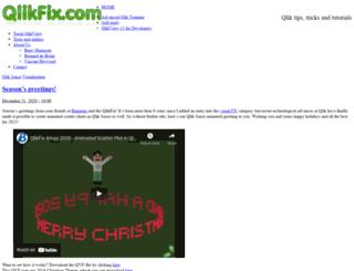qlikfix.com screenshot
