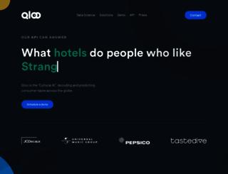 qloo.com screenshot