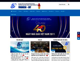 qlsv.uit.edu.vn screenshot