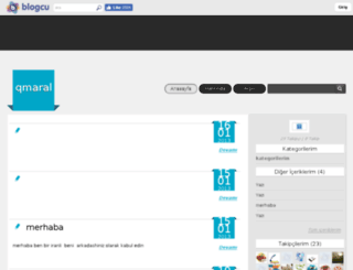 qmaral.blogcu.com screenshot