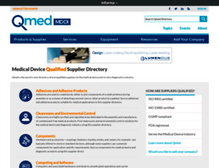 qmed.com screenshot