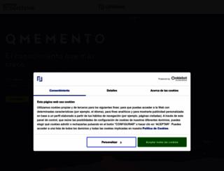 qmemento.com screenshot