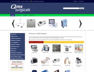 qmssurgicals.com screenshot
