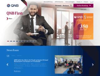 qnb.com.tn screenshot